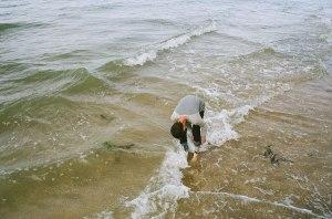 Jay on Margate Beach